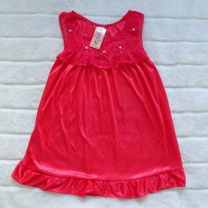🌵Youth NWT Nine's Red  Nightgown Large